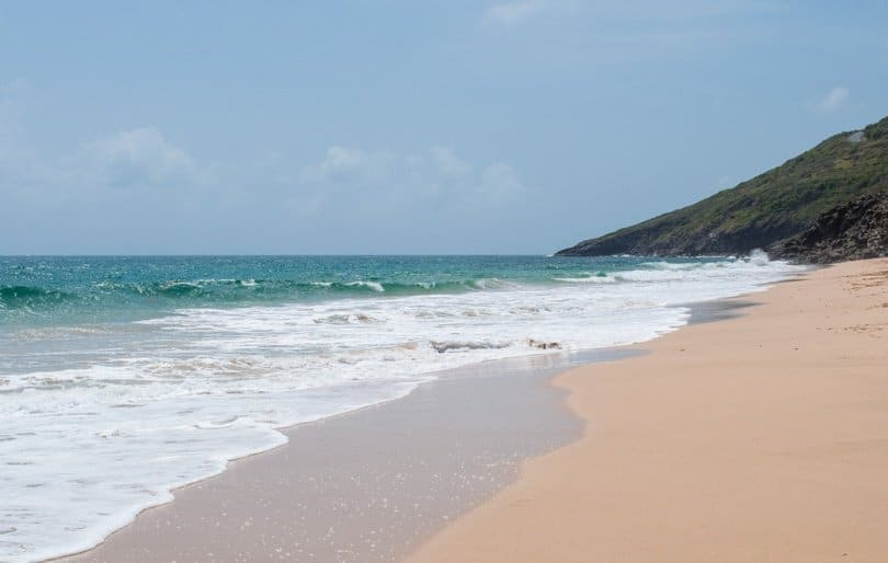 South Friar's Beach St Kitts