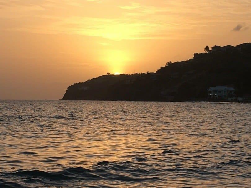 St Kitts Sunset