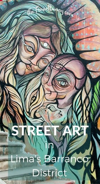 Discovering street art in Lima's bohemian Barranco district