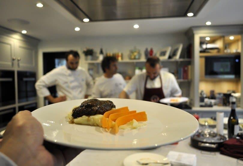 Black pig stew from Caserta