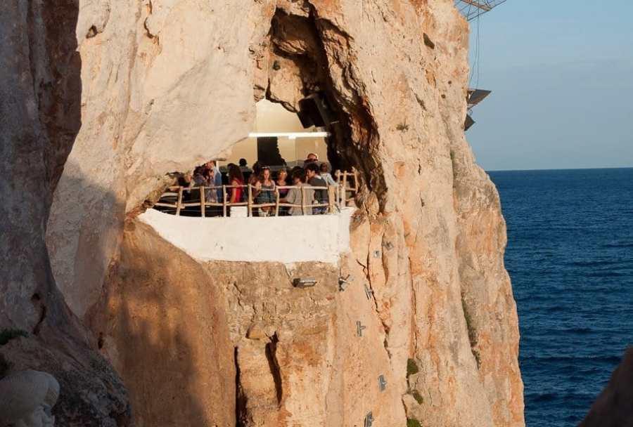 Cave and Cliff Bar Menorca