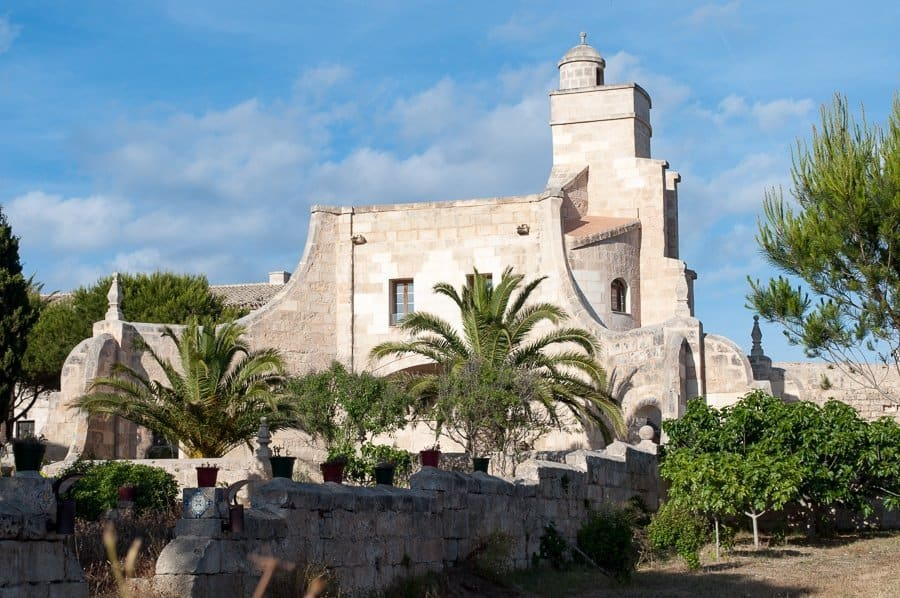 Lazareto church Menorca
