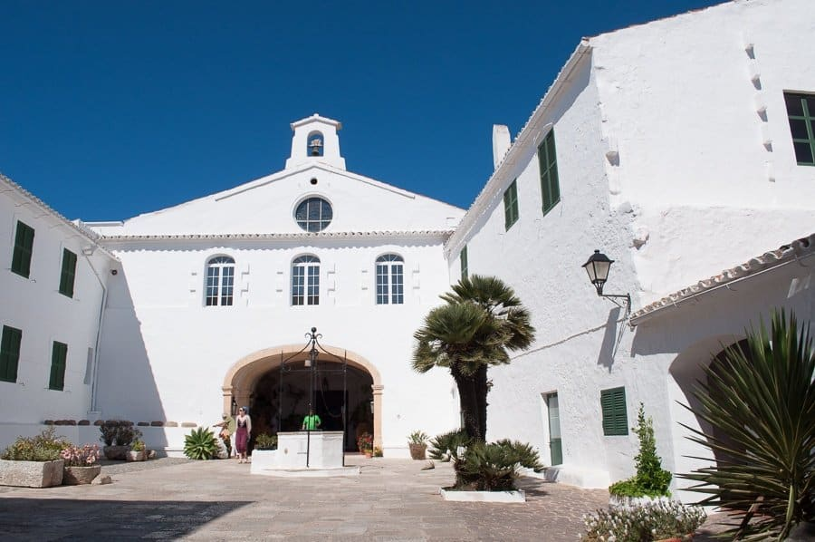 Menorca church