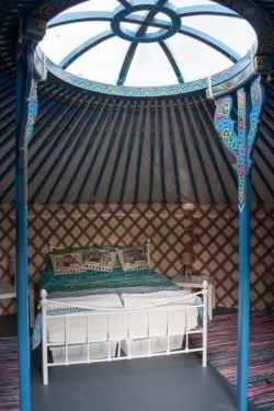 Yurt, Glamping France
