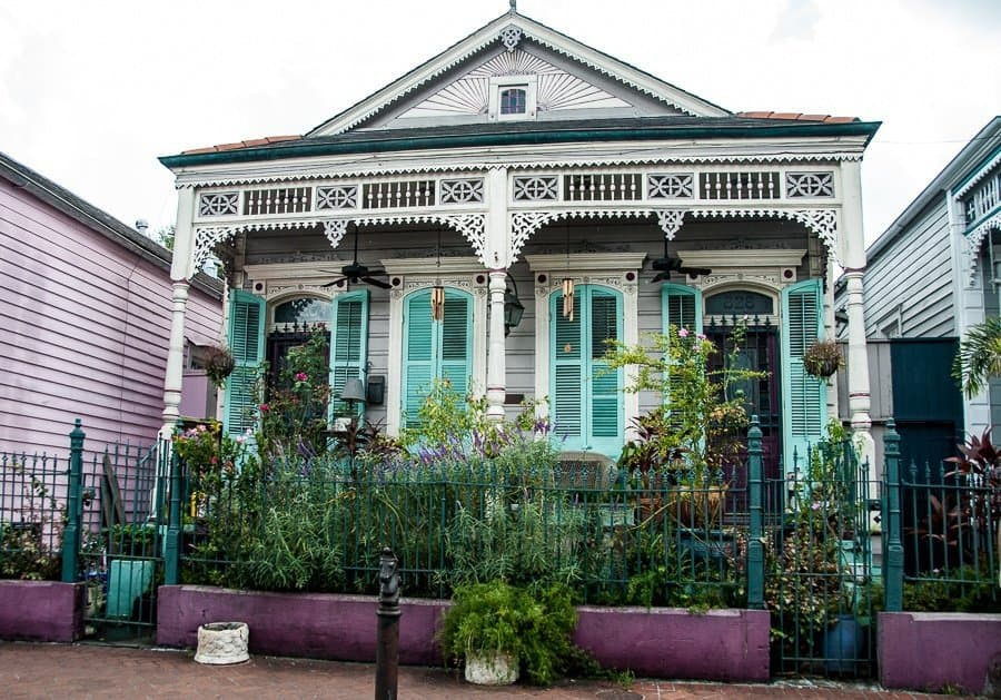 Creole House, New Orleans