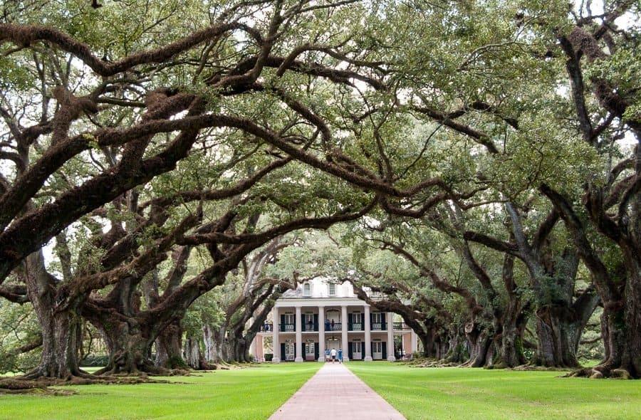 Oak Alley Plantation House, New Orleans