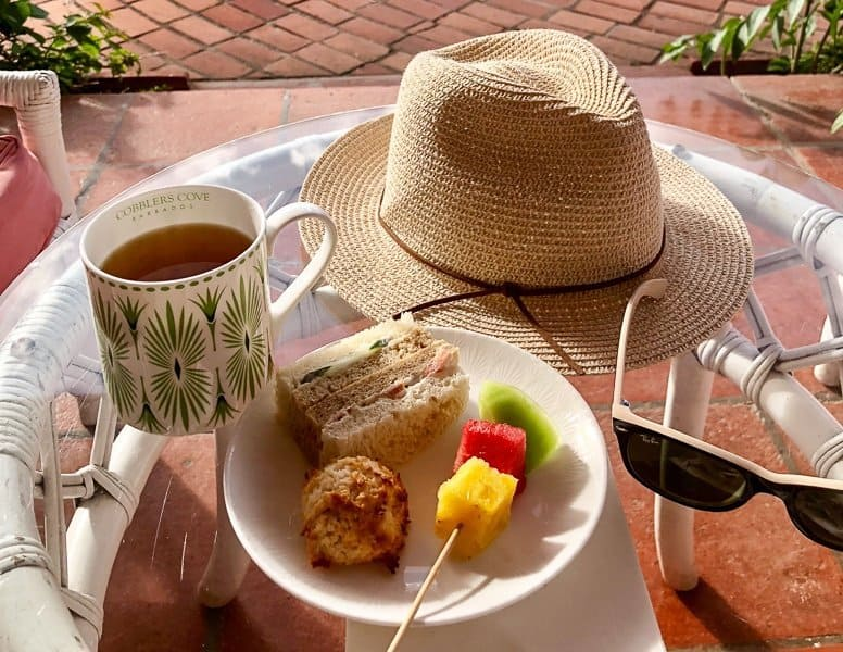 Cobblers Cove Boutique Hotel Barbados Afternoon Tea