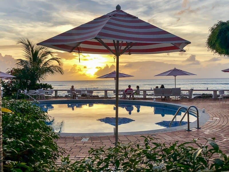 Cobblers Cove Boutique Hotel Barbados Sunset