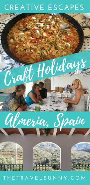 Getting creative on a craft holiday in Andalusia Spain with Creative Escapes
