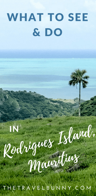 The best things to see and do in Rodrigues Island, Mauritius from discovering hidden coves, to ziplining, kite surfing, wildlife and nature #rodrigues #mauritius #traveltips #travelguide