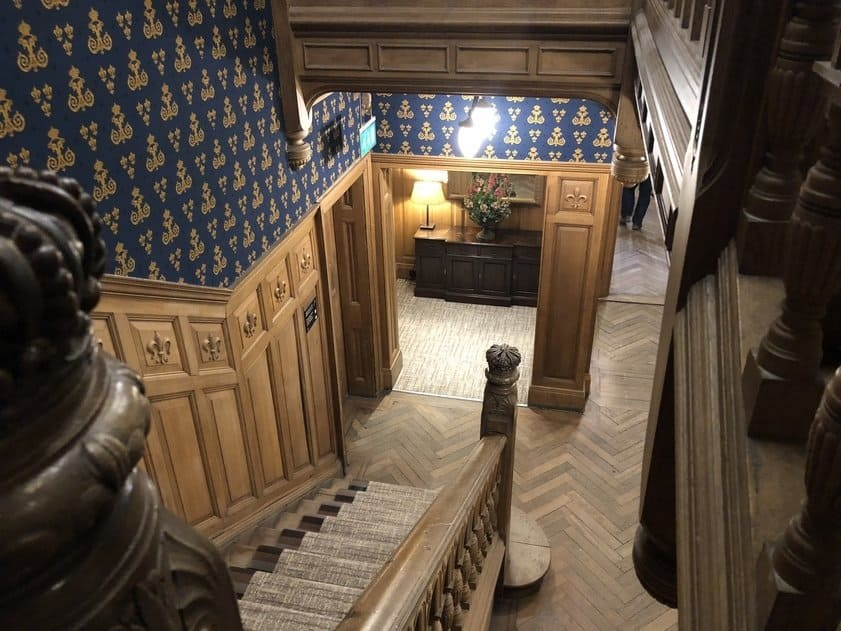 Hallway, The Wood Norton Hotel, Evesham