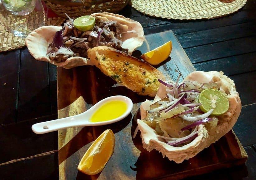 Food at Le Marlin Bleu