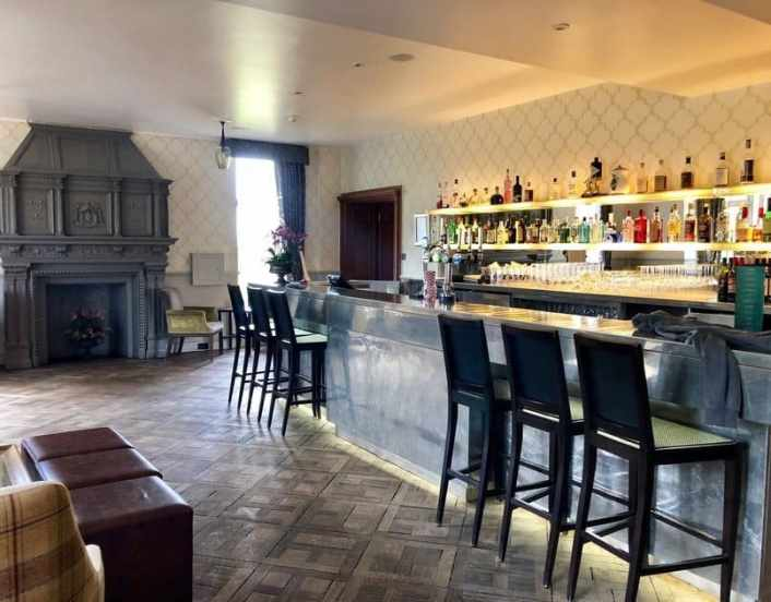 The Bar, Wood Norton Hotel, Evesham