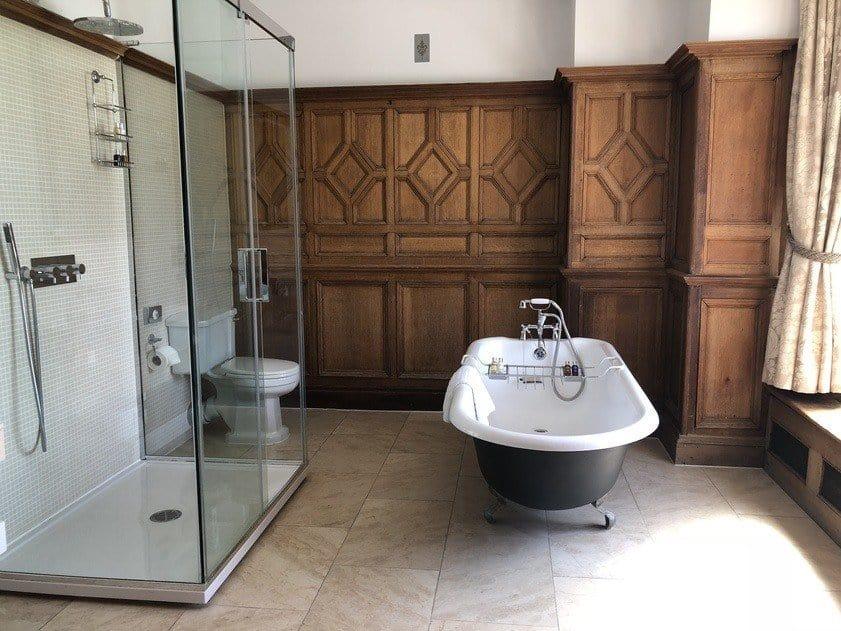 Bathroom Wood Norton Hotel