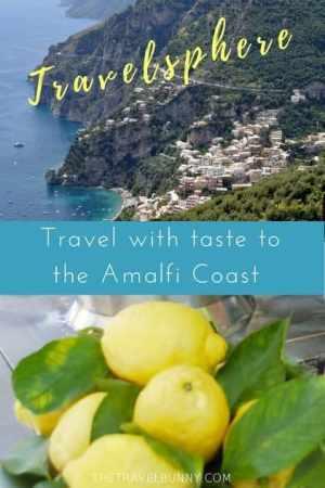 View of Amalfi Coast and Lemons