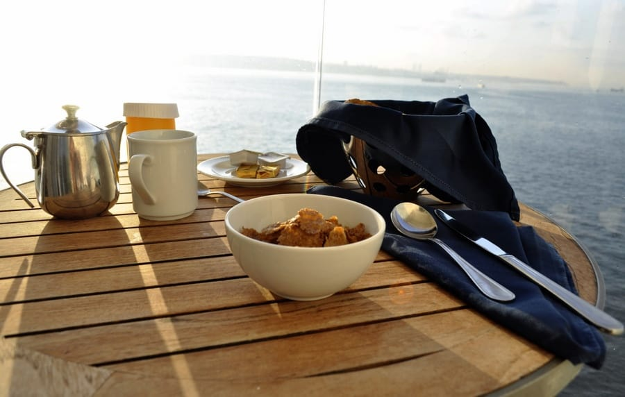Breakfast at Sea