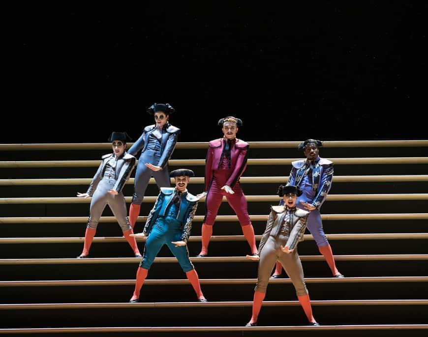 Carmen at the Royal Opera House London
