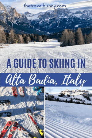 Ski runs in Alta Badia