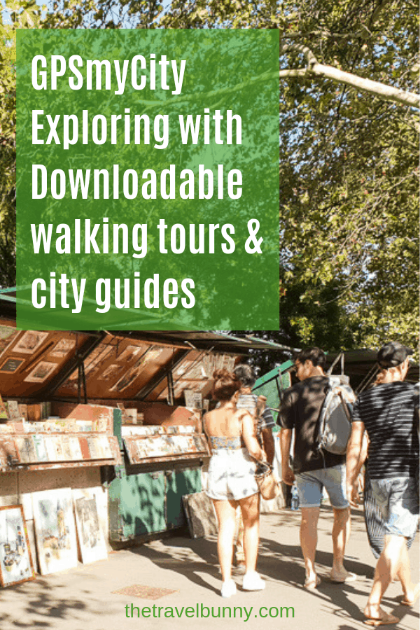 GPSmyCity self-guided walking tours offline and with gps-guided downloads available