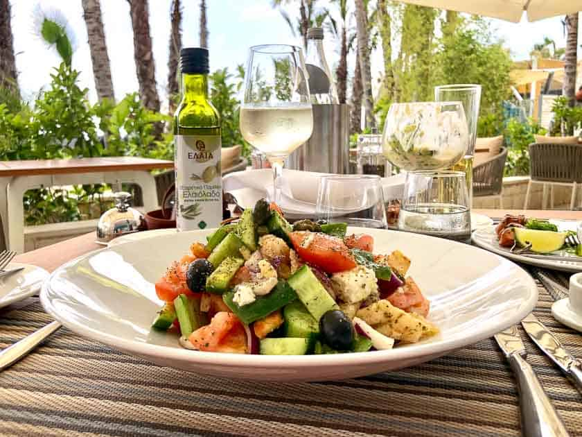 Greek salad, Cyprus
