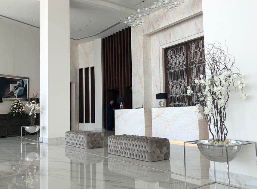 Reception Amavi Hotel, Paphos