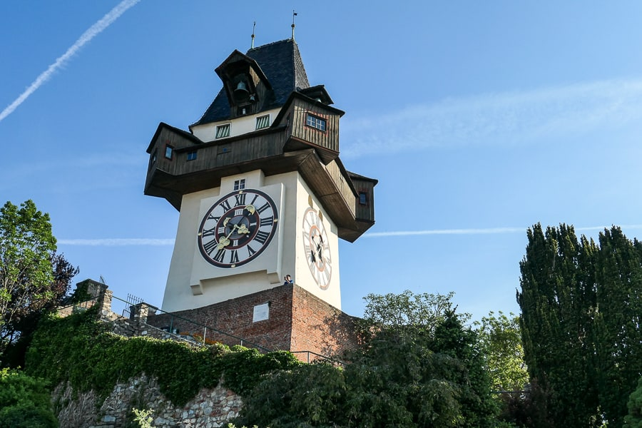 The Clocktower, Graz, Austria