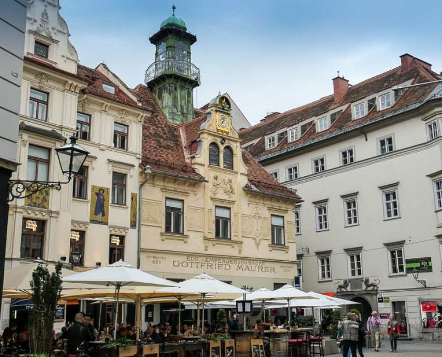 Glockenspiel Platz Graz