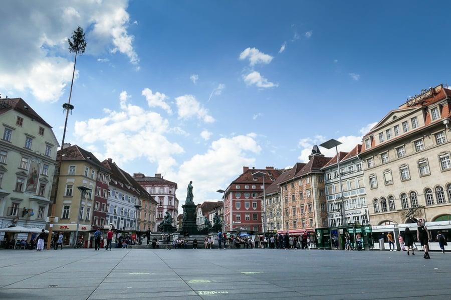Hauptplatz - Main square, Graz