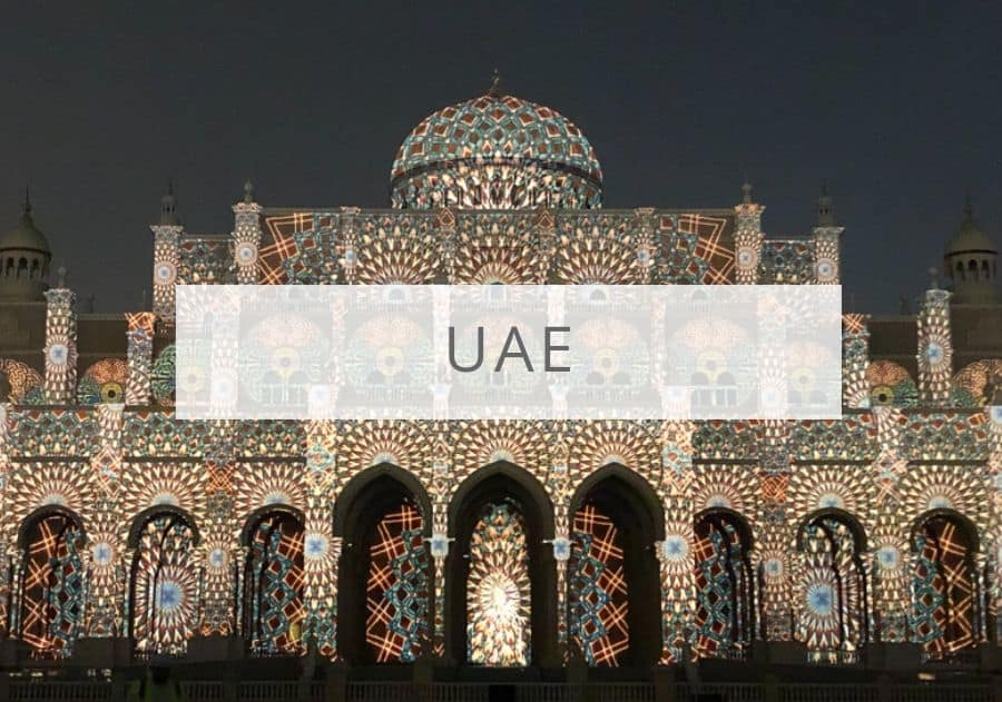 Sharjah City Municipality at Sharjah Light Show