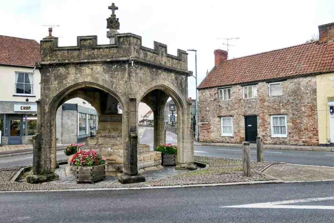 Old Market Cross, Cheddar village