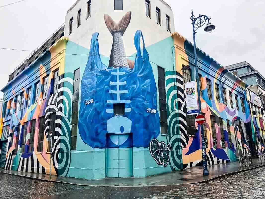 Street art by SUBSET in Temple Bar, Dublin