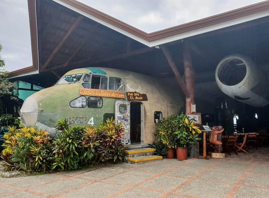 El Avion Bar, Manuel Antonio, Costa Rica