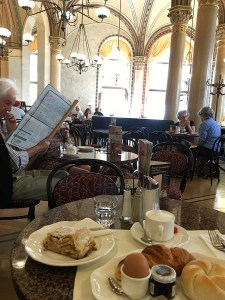 Breakfast at Café Central Vienna Austria