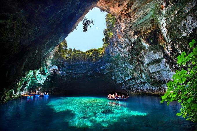 Melissani-Cave-Kefalonia
