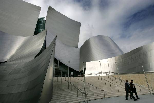 Frank Gehry Walt Disney Concert Hall