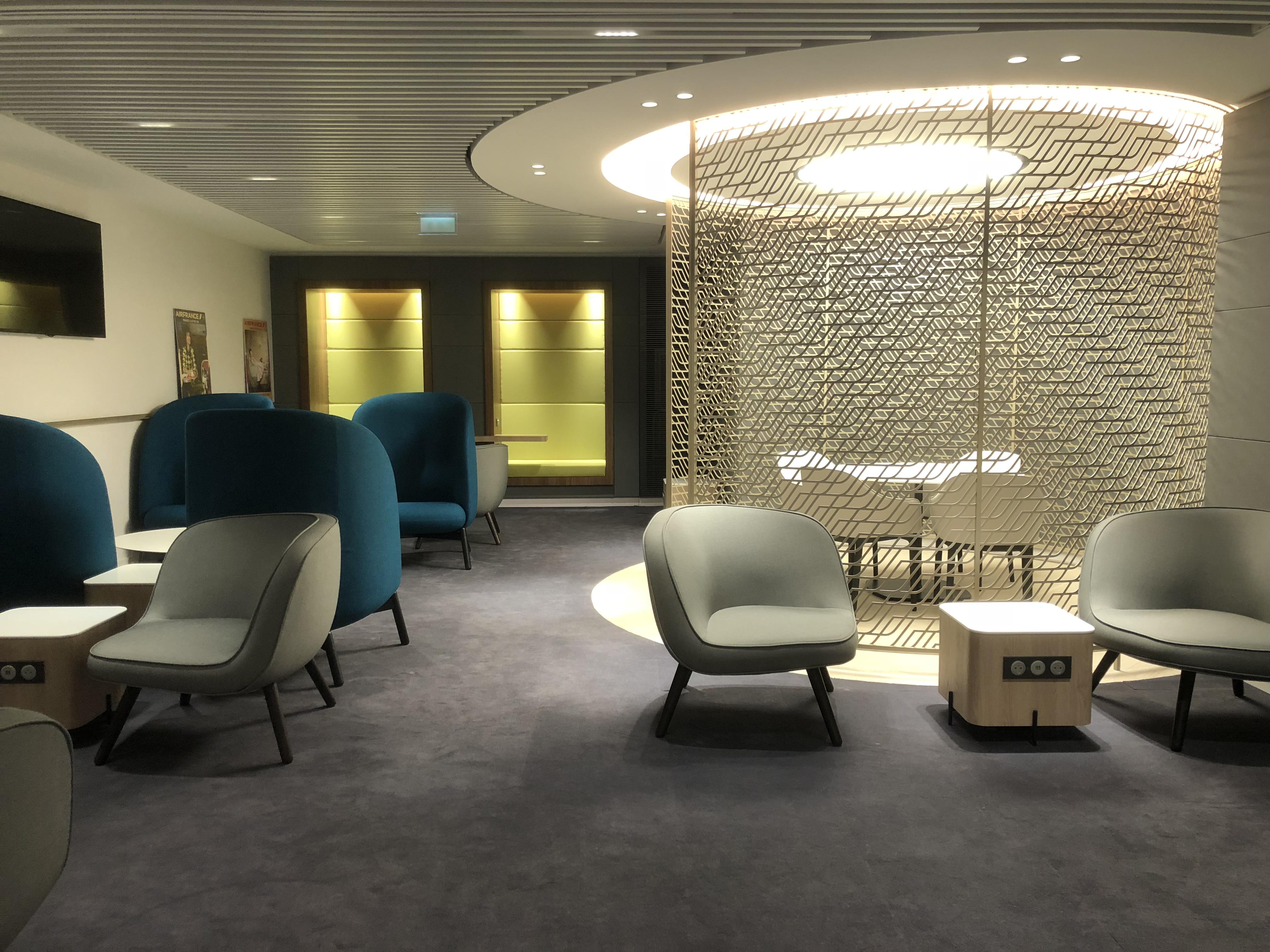 Le nouveau salon Air France  en 7 ralits aprs ouverture   The Travelers Club