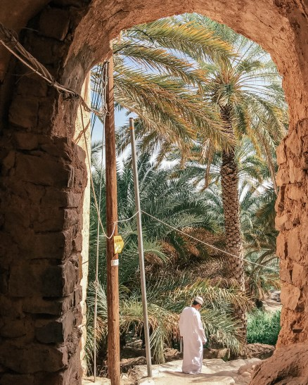 Learning local culture with an Omani guide