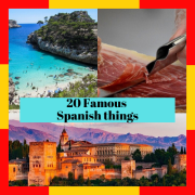 ▷ What is Spain famous for? ☝ 20 things Spain is known for ❤️