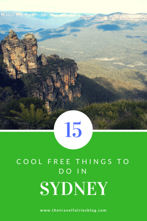 15 cool free things to do in Sydney #Sydney #travelguide #freethingstodo