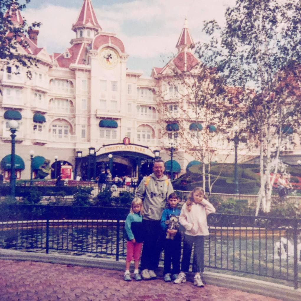 8 Reasons why Disney is not just for kids. Family photo at Disneyland Hotel