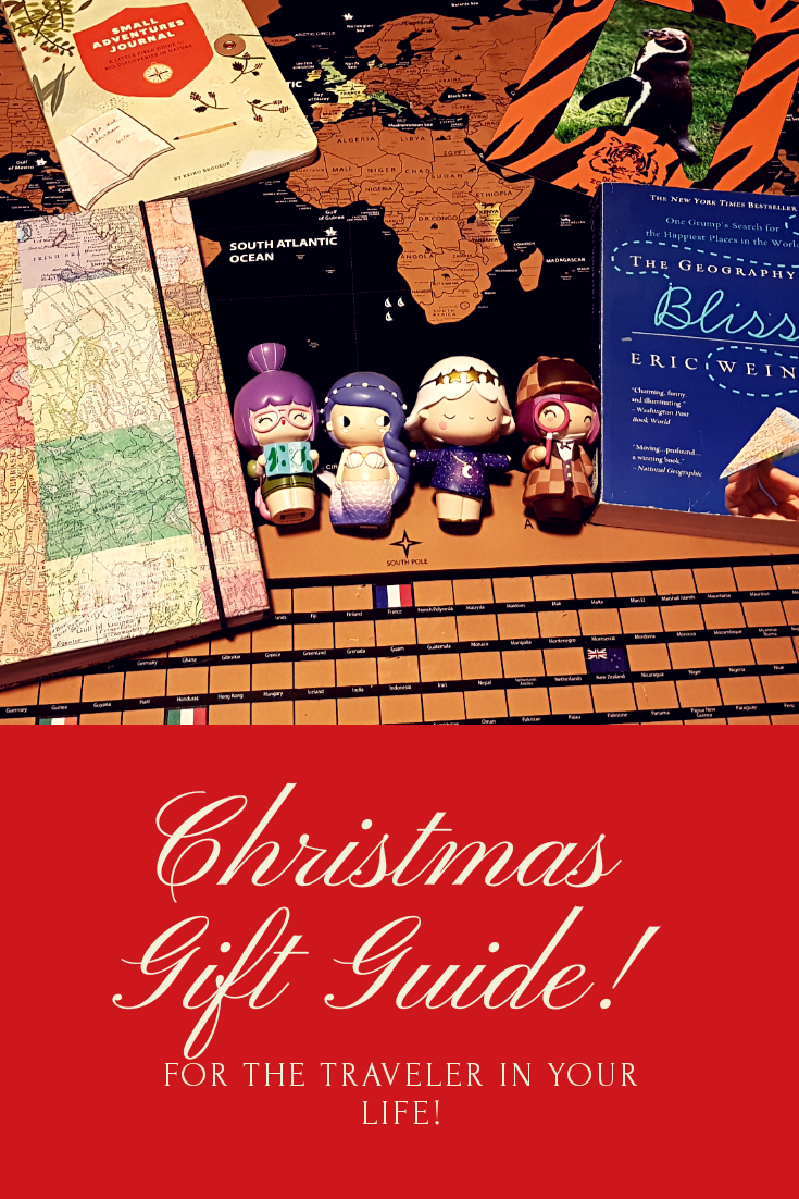 Christmas gift guide for the traveler in your life! Struggling to find the perfect present for that tricky to buy for traveler? Check out our Christmas gift guide for some great travel presents! #travel #christmas #christmasgiftguide #giftguide