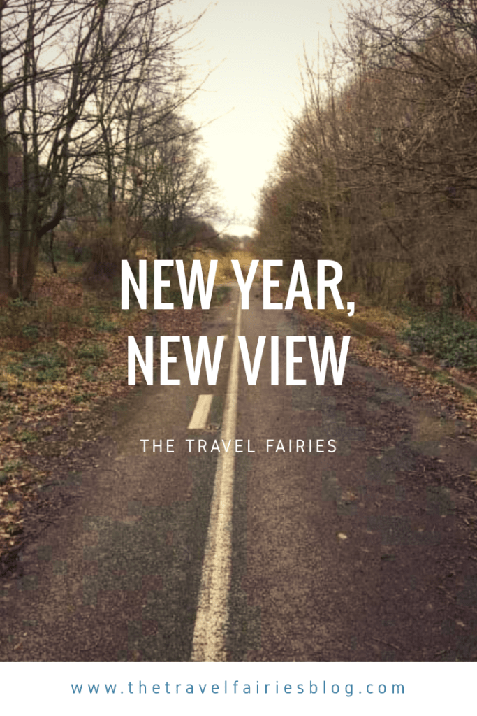 New Year, New View. How to set travel new year resolutions and tips for setting travel goals. #travel #newyearsresolution #travelgoals