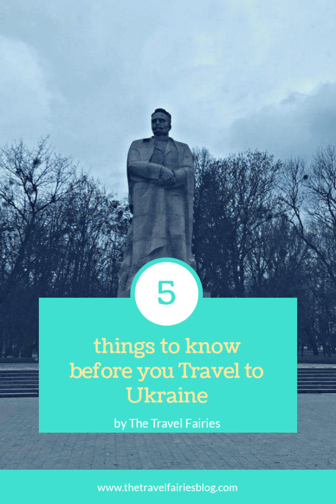 5 things to know before you travel to Ukraine. Ukraine travel tips and tricks. Tips for visiting Ukraine #Ukraine #Europe #travel