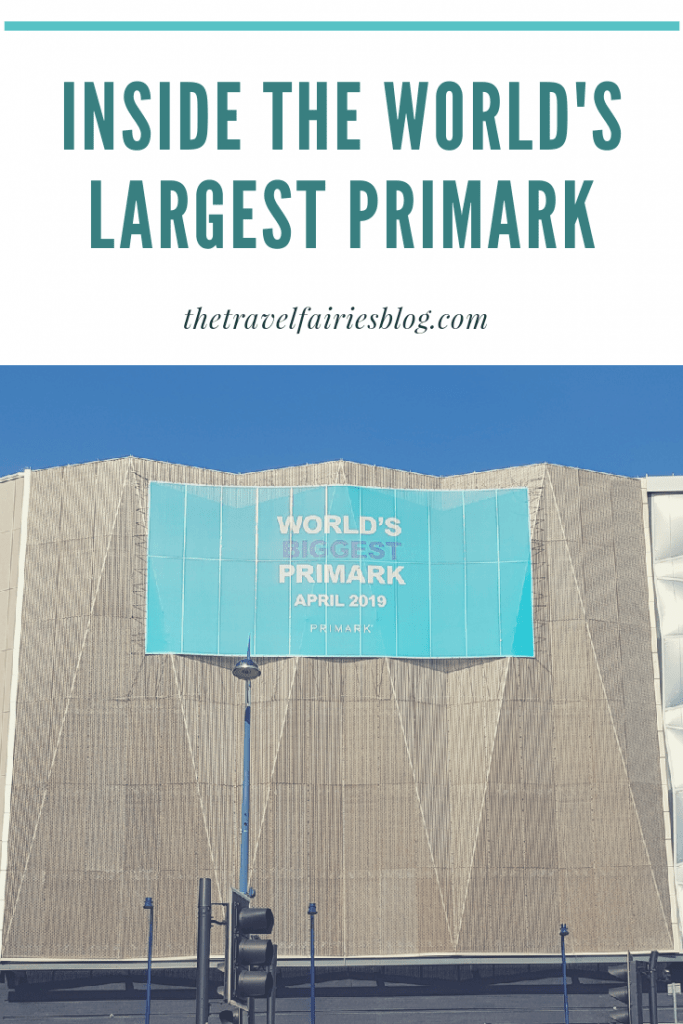 Is a Trip to the world's largest Primark in Birmingham worth it? How to get there and what you will find there. Review of all the cafes and restaurants in the world's biggest Primark #birmingham #shoppingtrip #europetravel