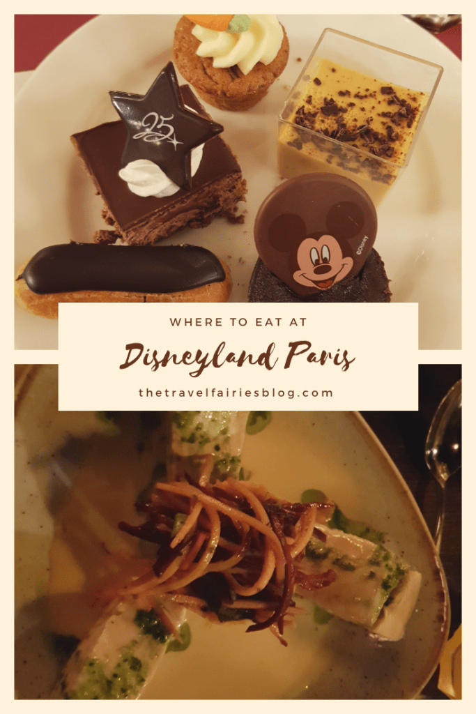 Disneyland Paris restaurant guide - Where to eat for every budget! Best restaurants in Disneyland Paris. Where to get the best food at Disneyland. Vegetarian guide to eating at Disneyland Paris #Disneylandparis #disneytravel #paris #europetravel