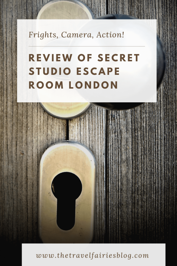 Review of the Secret Studio escape room, London | Fun, creative and quirky things to do in London | Awesome escape the room game for adults, for teams or as a team building group activity | Exciting experience to add to your London bucket list, escape room with live actors #escaperoom #thingstodoinLondon #europetravel