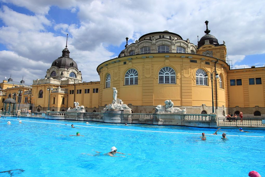 Countries in need: A thermal bath in Hungary