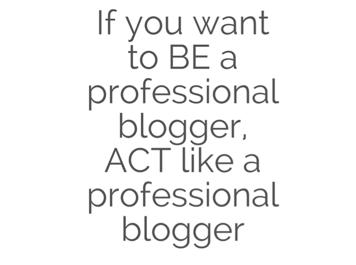 How to make the leap and become a full time blogger
