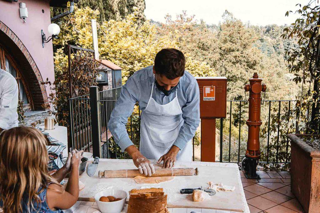 Cooking Class Renaissacne Tuscany so werden frische Ravioli Italien Urlaub