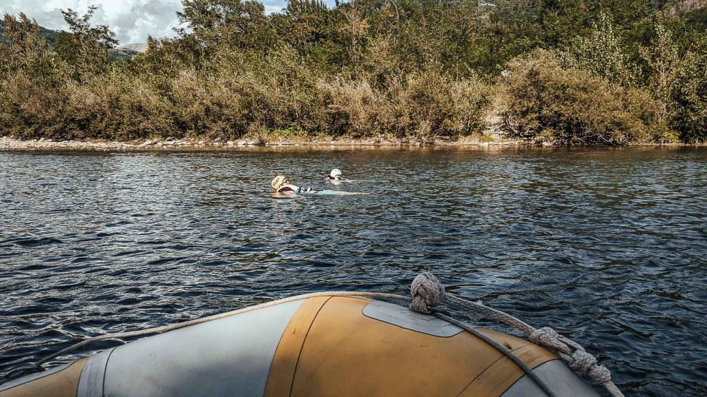 Familienausflug Rafting Tour Toskana